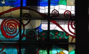 stained glass window Hotel Best Western Balvanyos / by