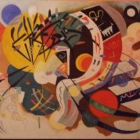 Kandinsky - Dominant Curve Reproducere