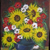 sunflower with flower