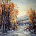 Iarna ninsa in culori