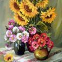 Flori de toamna aurie