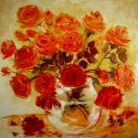 Trandafiri in vas