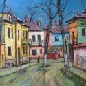 strada in Bucurestiul vechi