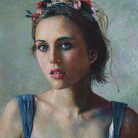 Portret in ulei Beauty
