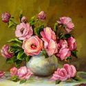Vas cu roze