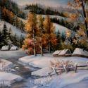 Iarna printre brazi