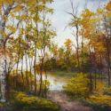 Copacii de langa lac