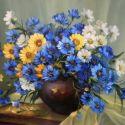 Buchet cu albastrele