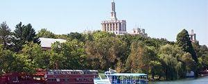 Herastrau Park in Bucharest