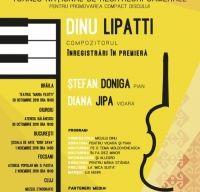 Lucrari semnate Dinu Lipatti, inregistrate in premiera