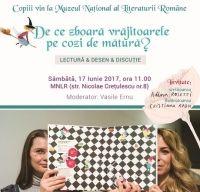 Evenimente dedicate copiilor la Muzeul National al Literaturii Romane