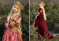 Rochii de poveste create de Angela Clayton: rochia Cenusaresei sau a Elsei