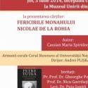 Dubla lansare de carte si Concert coral la Muzeul Unirii din Iasi