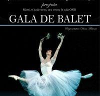 Gala de Balet la Opera Nationala Bucuresti