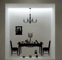 Negru pe alb – cum decoram cu wall decals