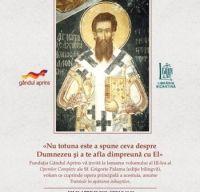 Lansarea volumului al III-lea al Operelor Complete ale Sf. Grigorie Palama (editie bilingva)