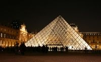 The history of the Louvre Pyramid