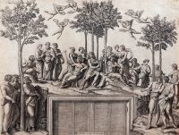 Vizita ghidata in expozitia de gravura italiana