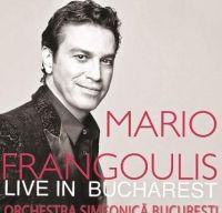 Concert Mario Frangoulis la Sala Palatului din Bucuresti