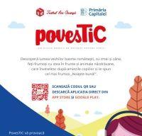 Lansare PovesTIC – aplicatie mobila de povesti pentru copii