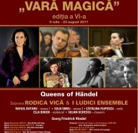 Queens of Handel - soprana Rodica Vica si I Ludici Ensemble