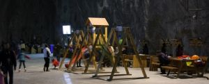 Salina Praid cea mai mare salina din Romania
