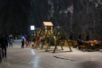 Salina Praid - cea mai mare salina din Romania