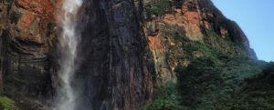 Angel Waterfall of Venezuela the tallest waterfall in the world