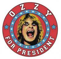 """""""Ozzy For President"""", o noua idee marca Ozzy Osbourne"""
