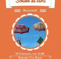Schimb de Carti Bucuresti. Intalnirea lunii Februarie