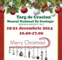 Targ de Craciun la Muzeul National de Geologie