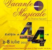 Vacante Muzicale la Piatra-Neamt, 2 – 8 iulie