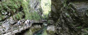 Cheile Vintgar Slovenia