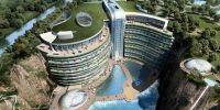 Hotel de lux deschis intr-o fosta cariera miniera din China