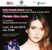 Interpreta discului de muzica clasica al anului 2014, in recital la Bucuresti