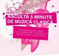 De ziua Radio Romania Muzical violonistul Alexandru Tomescu canta la ParkLake Shopping Center din Bucuresti