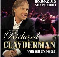 Concert Richard Clayderman la Sala Palatului din Bucuresti