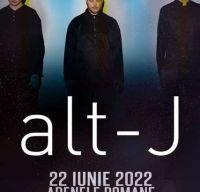 Concert alt-J la Arenele Romane din Bucuresti