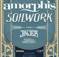 Amorphis, Soilwork si Jinjer in concert la Arenele Romane