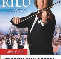 Andre Rieu va concerta pentru prima oara la Cluj-Napoca