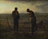 Tabloul zilei: Jean-Francois Millet - L'Angelus