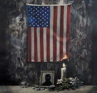 Banksy revine cu viziunea sa asupra evenimentelor din Statele Unite
