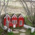 Alfhol, casutele pentru elfii din Islanda