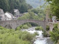 The natural beauty of the Cevennes, France