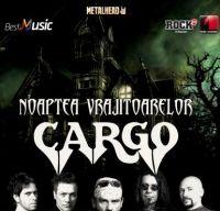 Concert Cargo de Haloween la Bucuresti