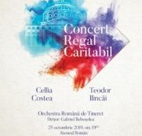 Concert Caritabil Regal la Ateneul Roman