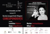 Soprana Leontina Vaduva lanseaza pe piata albumul Verdi-Wagner: Corespondente