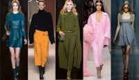 Afla ce culori vor fi la moda in toamna anului 2015