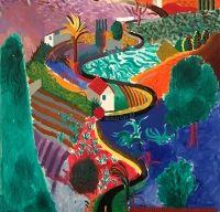 Un peisaj al lui David Hockney ar putea stabili un nou record pentru artist