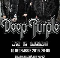Concert Deep Purple la Cluj-Napoca